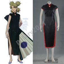 Naruto Temari Cheongsam Shippuuden The 4th Cosplay Costume Kimono Children