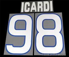 Sampdoria Icardi 98 2012/13 Football Shirt Name/Number Set Kit Home