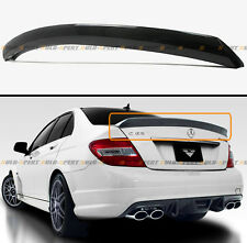 FOR MERCEDES BENZ W204 C250 C300 C63 CARBON FIBER V STYLE DUCKBILL TRUNK SPOILER