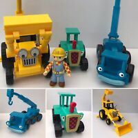 Bob The Builder Bundle Lofty Scoop Travis Figure Toys Vehicles Job Lot CBeebies