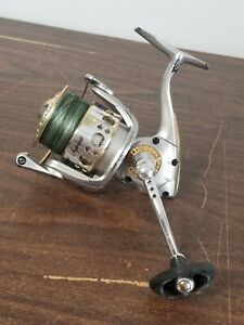 Pflueger Supreme 8040MG Spinning Reel Vintage Silver and Gold Tone