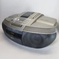 1999 AIWA CSD-ED37 Boombox AM FM CD Compact Disk Stereo Radio Cassette Recorder