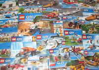 Lego ® Gros Lot Vrac 1 kilo Notice Plan Manuel Recette Ville City NEUF