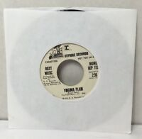 "Rare Promo Roxy Music Virginia Plain 45 rpm 7"" Record REP 1124 1972 Bryan Ferry"