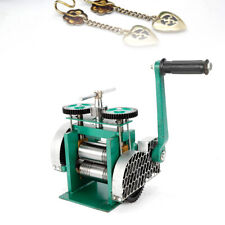 Stainless Alloy  Green Rolling Mill Machine for Jewelry Tools & Equipments NEW