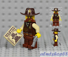 LEGO Series 13 - Sheriff 71008 Minifigure Western Lawman Bandit Collectible 6