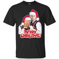 Merry Christmas From Putin and Trump T-Shirt Funny Donald Trump Men's Shirt