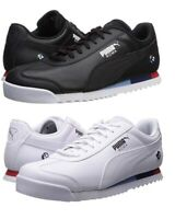 PUMA BMW Motorsport MMS Roma Men's Sport Car Fan Shoes Sneakers Black White