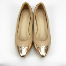 NEW!!! S100 - NUDE Luxury Handmade Genuine Leather Women Shoes