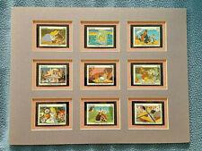 Grenada - 1987 - Disney - Alice In Wonderland - Mounted Matted Display animation