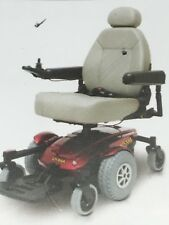 PRIDE Jazzy Select '6' Ultra Power Elevating Seat Mid Wheel Electric Wheelchair
