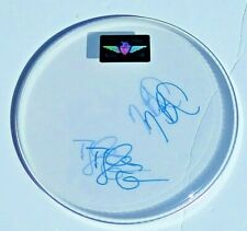 NEON TREES Band SIGNED DRUMHEAD Sleeping with a Friend Tyler Glenn