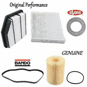 Tune Up Kit Cabin Air Oil Filters Belt for Lexus IS250 RWD 2006-2012