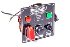 QuickCar Ignition Panel Black with Accessory button, Switch and Lights