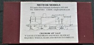 7mm Scale Caledonian Railway/LMS/BR '439' class 0-4-4T Locomotive kit