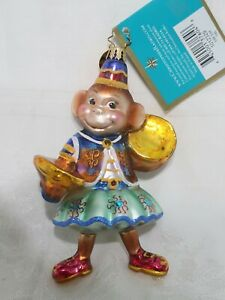 "Christopher Radko Christmas Ornament ~ 2005 SIM SIM - MONKEY - 1012329  5"" TALL"