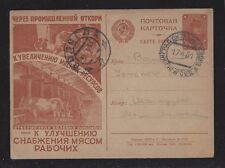 Russia USSR Postcard Propaganda Agitation 1930 ( Zagorsky Cat.№ 65)