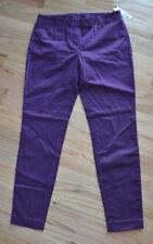 Theory Women's Dark Purple Pants (Size M) Work Office Casual