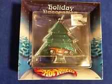 2002 Mattel Hot Wheels Holiday Decoration Ornament Hot Rod