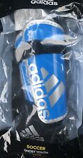 Adidas Ghost Youth Shin Guards Blue Soccer Shinguards *Size Small 3-5 yrs* Nwt