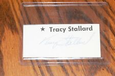 Tracy Stallard, Red Sox, Mets, Cardinals signed Cut Autograph