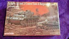 Dragon 9054 1:35 Pz.Kpfw III Ausf.J Control Tank & Bogward IV Ausf.B Model Kit