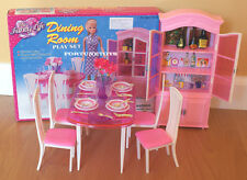 NEW FANCY LIFE DOLL HOUSE FURNITURE DINING Room With Hutch PLAYSET (24011)