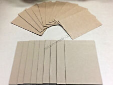 20pk Blank Brown DIY Cards & Envelopes C6 Size Craft Wedding Party Invitation
