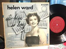 "HELEN WARD It's Been So Long COLUMBIA CL 6271 rare 10"" jazz LP1A/2B EXC/VG+"