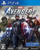 Marvel's Avengers Deluxe Edition PlayStation 4  New Game Japan PS4