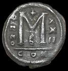 Justinian I, AD 527-565. Æ Follis, Large M