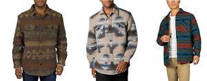 Jachs Men's Patterned Shirt Jacket