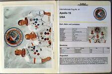 s1851) Raumfahrt Space Kosmos - Apollo 15 Sammlung mit Autographen + Autopen