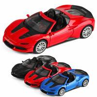 1:32 Ferrari J50 Sportwagen Die Cast Modellauto Spielzeug Sammlung Pull Back