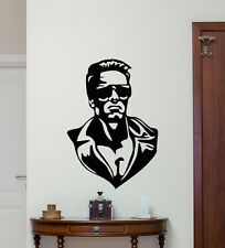 Terminator Wall Decal Movie Superhero Vinyl Sticker Home Kids Art Poster 231hor