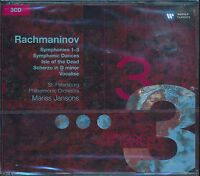 Rachmaninov Symphonies 1 - 3 Isle of Dead CD NEW Mariss Jansons
