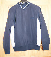 CHILD'S GOLF TOP - WORN ONCE ONLY - AGE 9 - NAVY