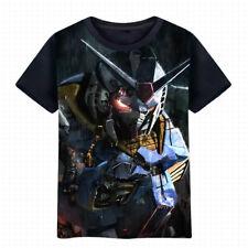 Summer Anime GUNDAM T-shirt Unisex Short Sleeve Casual TEE S-3XL 1716