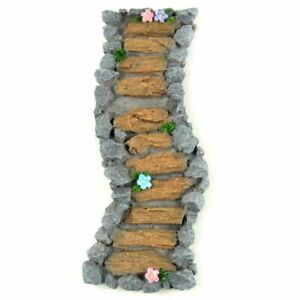Miniature Dollhouse Fairy Garden Wood & Stone Pathway - Buy 3 Save $5