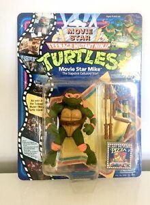 Teenage Mutant Ninja Turtles Movie Star Mike MOC MISB BNIB Vintage TMNT