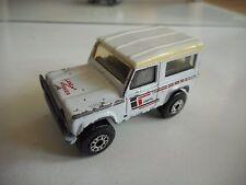 Matchbox Land Rover Ninety in White