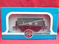 AIRFIX RAILWAYS L.M.S. 7-PLANK MINERAL WAGON MINT IN BOX