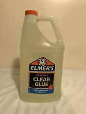 Elmers Glue, 1 Gallon, Clear, Safe, Non Toxic
