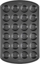 New listing Wilton Perfect Results Non-Stick Mini Muffin and Cupcake Pan, 24-Cup