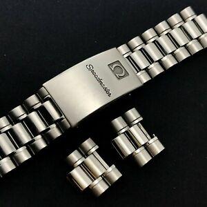 Vintage OMEGA Ref.1469 No.32 18mm No End Link Mens Watch Bracelet for Seamaster