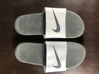 Nike Kawa Slide Sandal 832646 004 Gray/Black Size 9 New