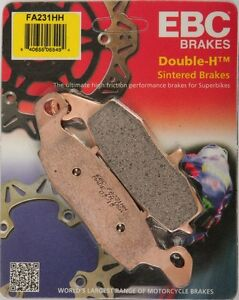 EBC - FA231HH - Double-H Sintered Brake Pads - Made In USA