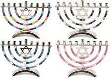 Hanukkah Menorah 9 Branches 18cm Star of David Jewish Chanukah Hanukiah Menora