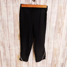 Pearl Izumi Women's Crop Leggings Tights Black Size Medium