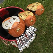 Ram Lightning 500 Golf Club Set 1-3-4 Woods 2 Iron Through 9 Iron 11 Clubs EUC